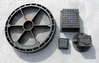 Precast Concrete Stop Valve Covers, Fire Hydrant Boxes, Water Meter Covers