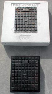 Water meter covers, Fire hydrant boxes, Stop valve covers